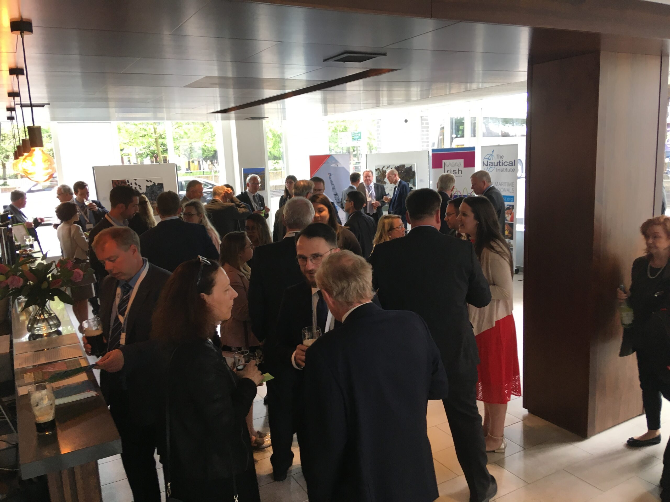Delegates at 2nd Arctic Shipping Forum 2018