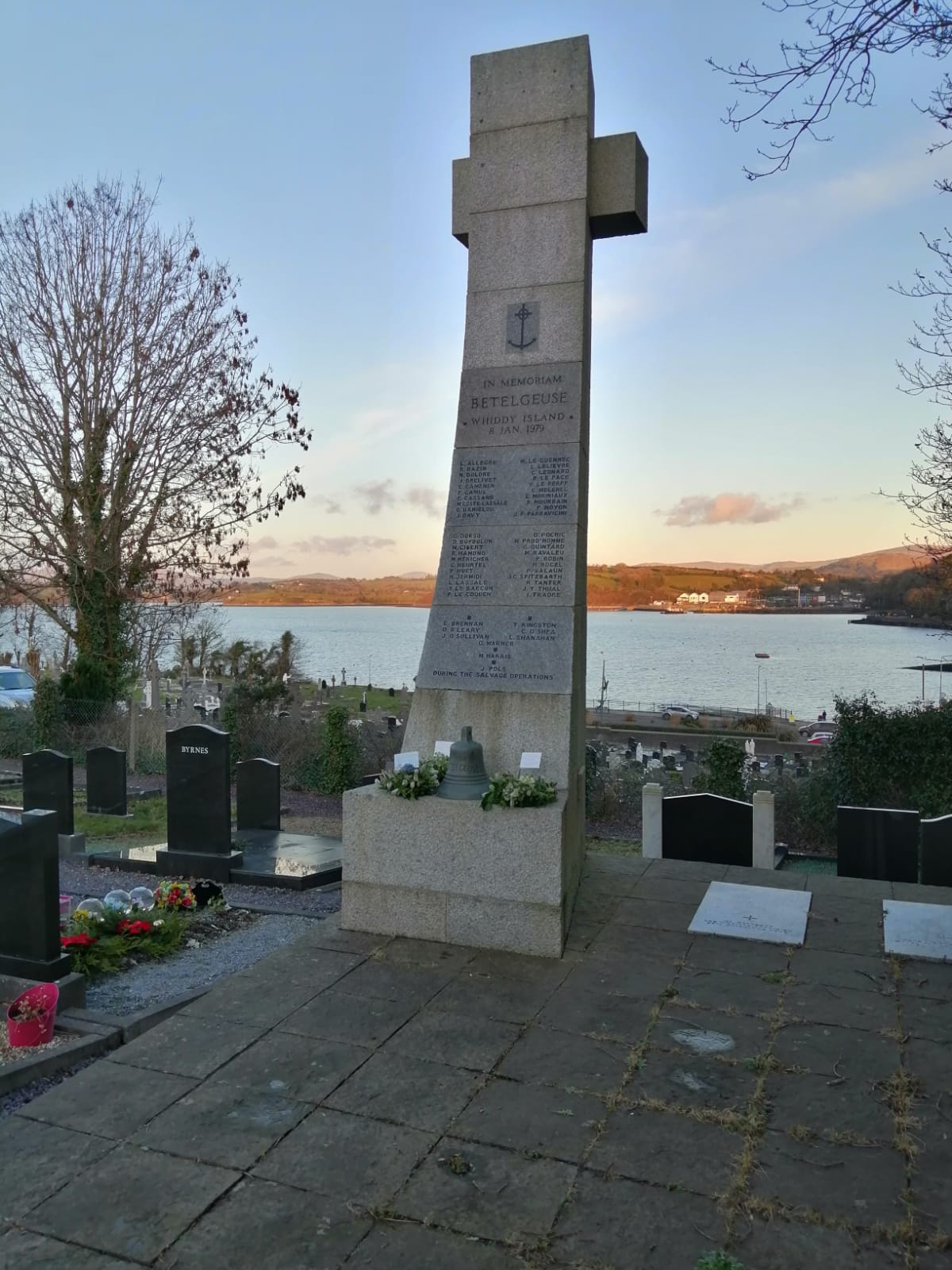 The Whiddy memorial, Bantry